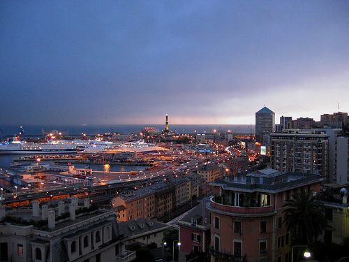 Lights of Genoa