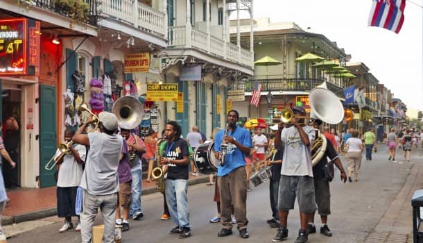 Jazz it up on the New Orleans summer streets