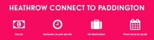 Heathrow Connect to Paddington