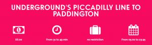 Piccadilly to Paddington