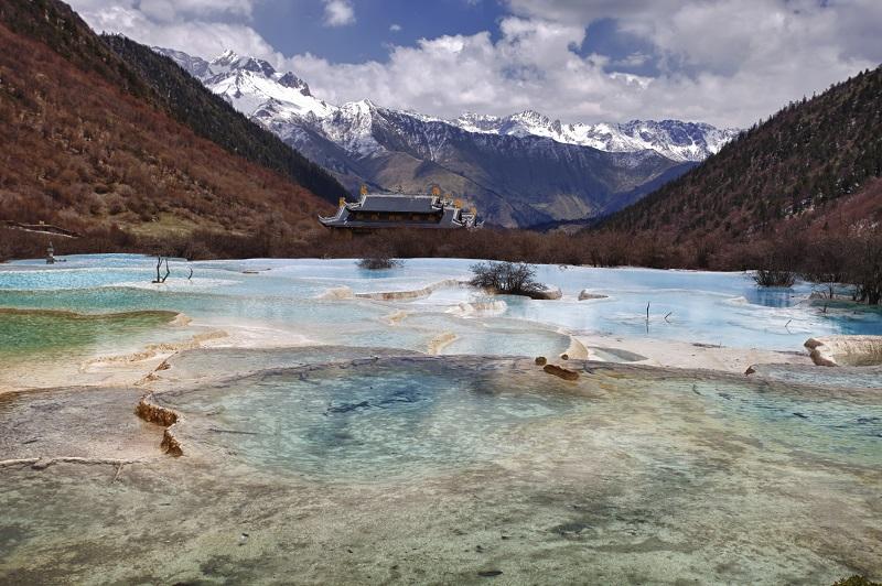 Jiuzhaigou Valley National Park China