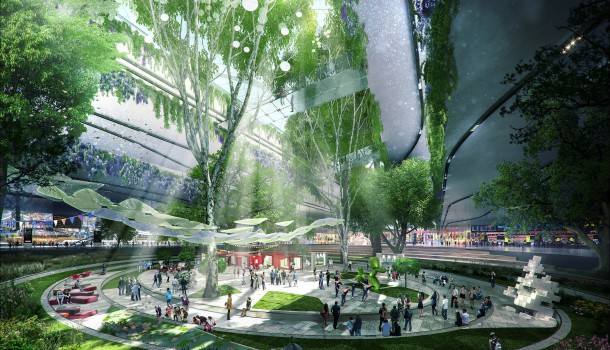 Heathrow expansion and redesign HOK concept